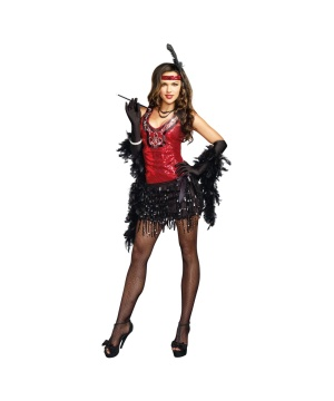 Shimmy Shake Flapper Womens Costume