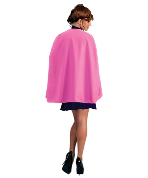 Womens Superhero Cape Pink