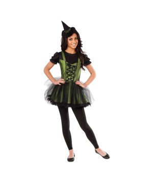 Wizard of Oz Wicked Witch of the West Young Womens Costume