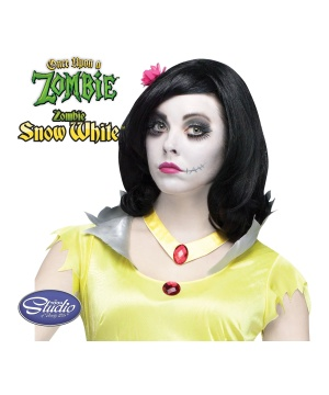 Once Upon a Zombie Snow White Wig