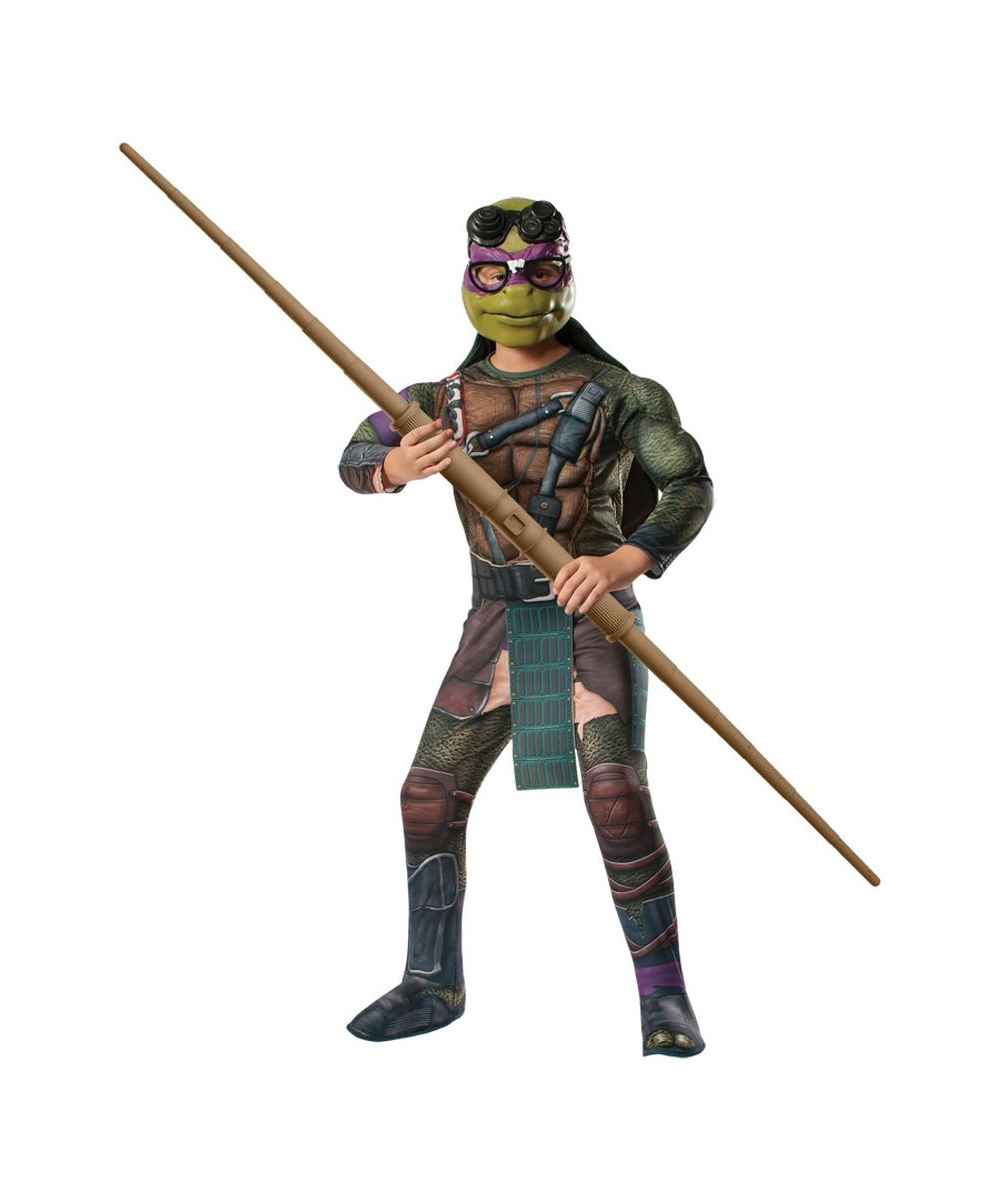 sc 1 st  Halloween Costumes & Ninja Turtles Donatello Boys Costume - Boys Costume