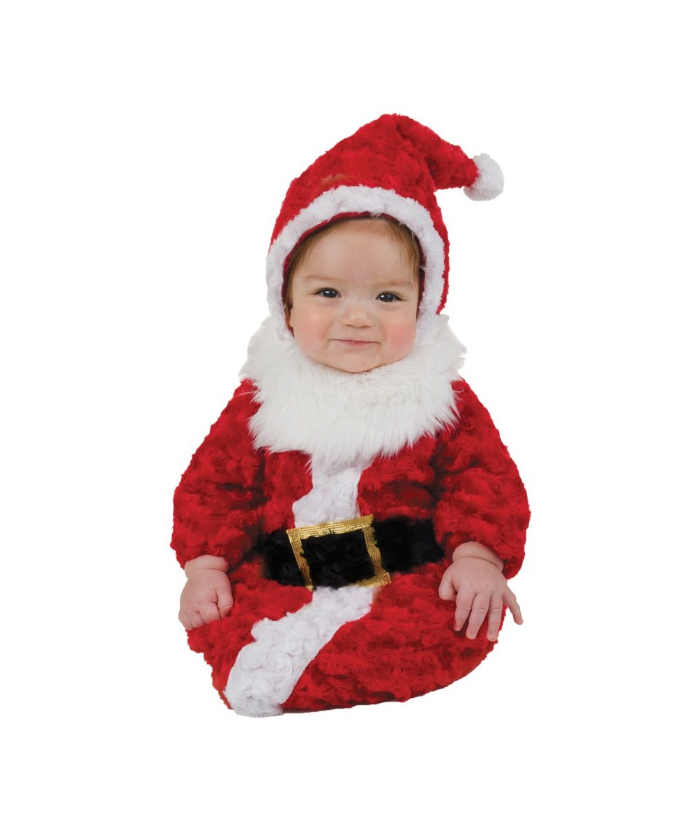 Santa Baby Bunting Costume