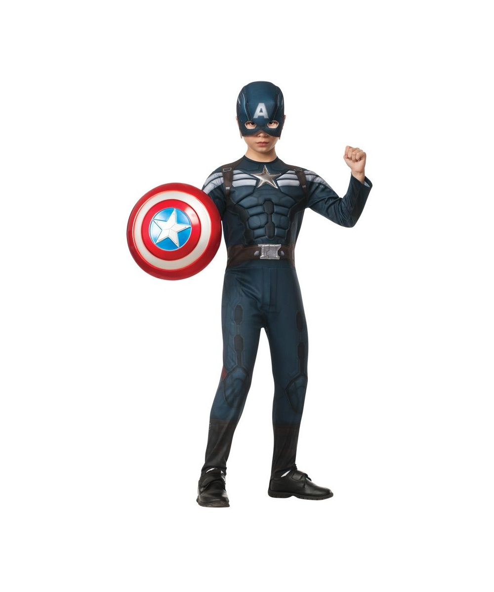 Boys Captain America Stealth Costume