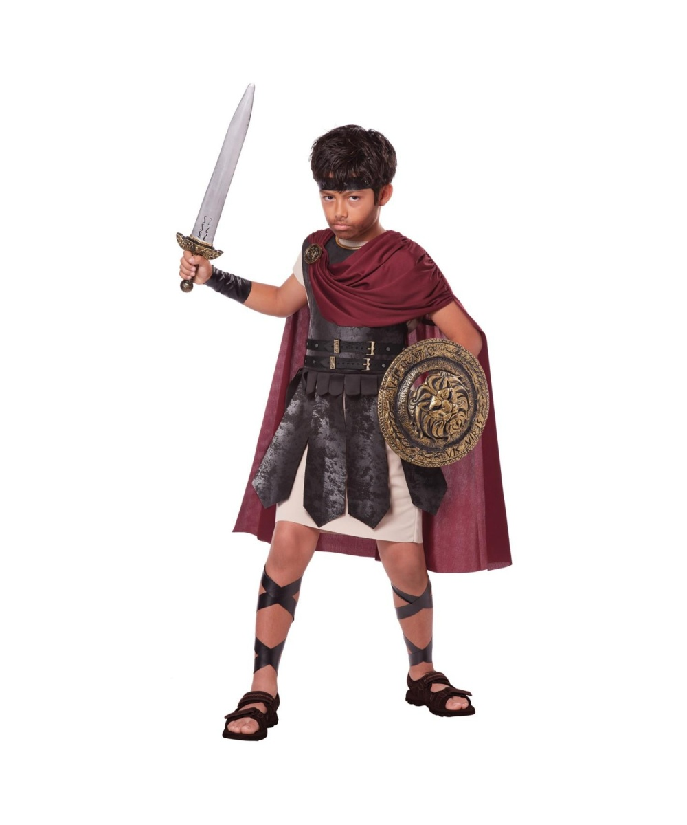 Boys Spartan Warrior Costume