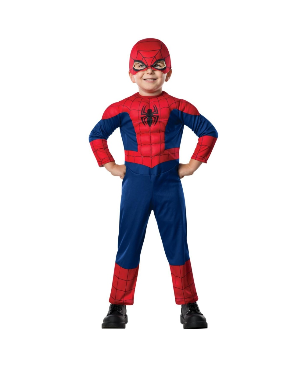Boys Spiderman Baby Costume