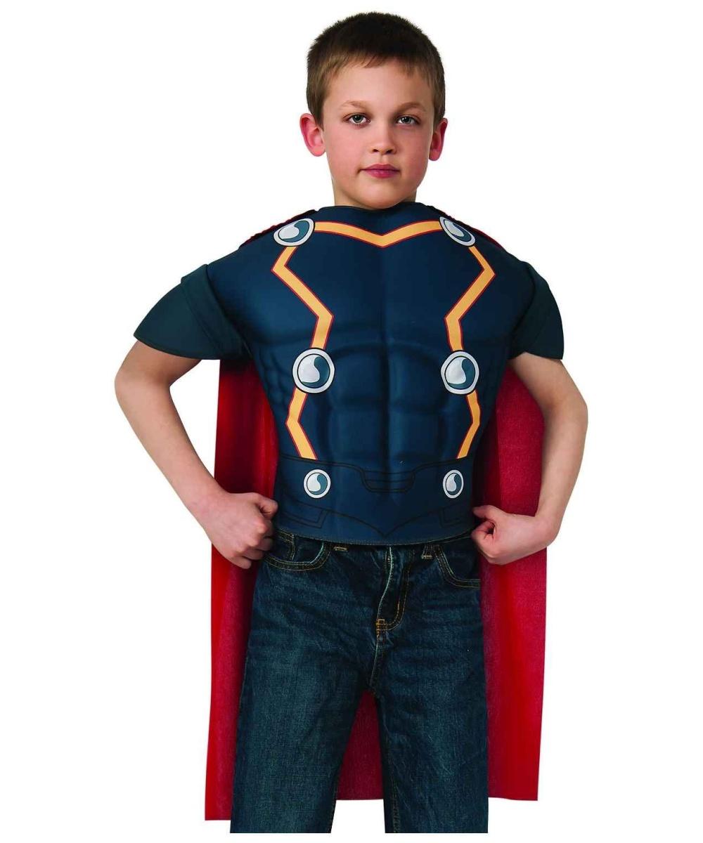 sc 1 st  Wonder Costumes & Thor Boysu0027 Muscle Costume Shirt