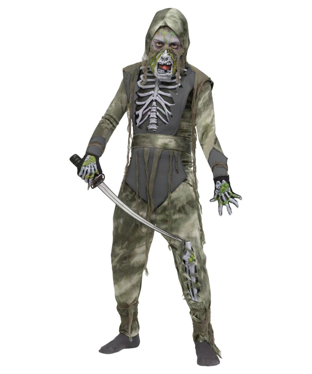zombie ninja boys costume boys costume