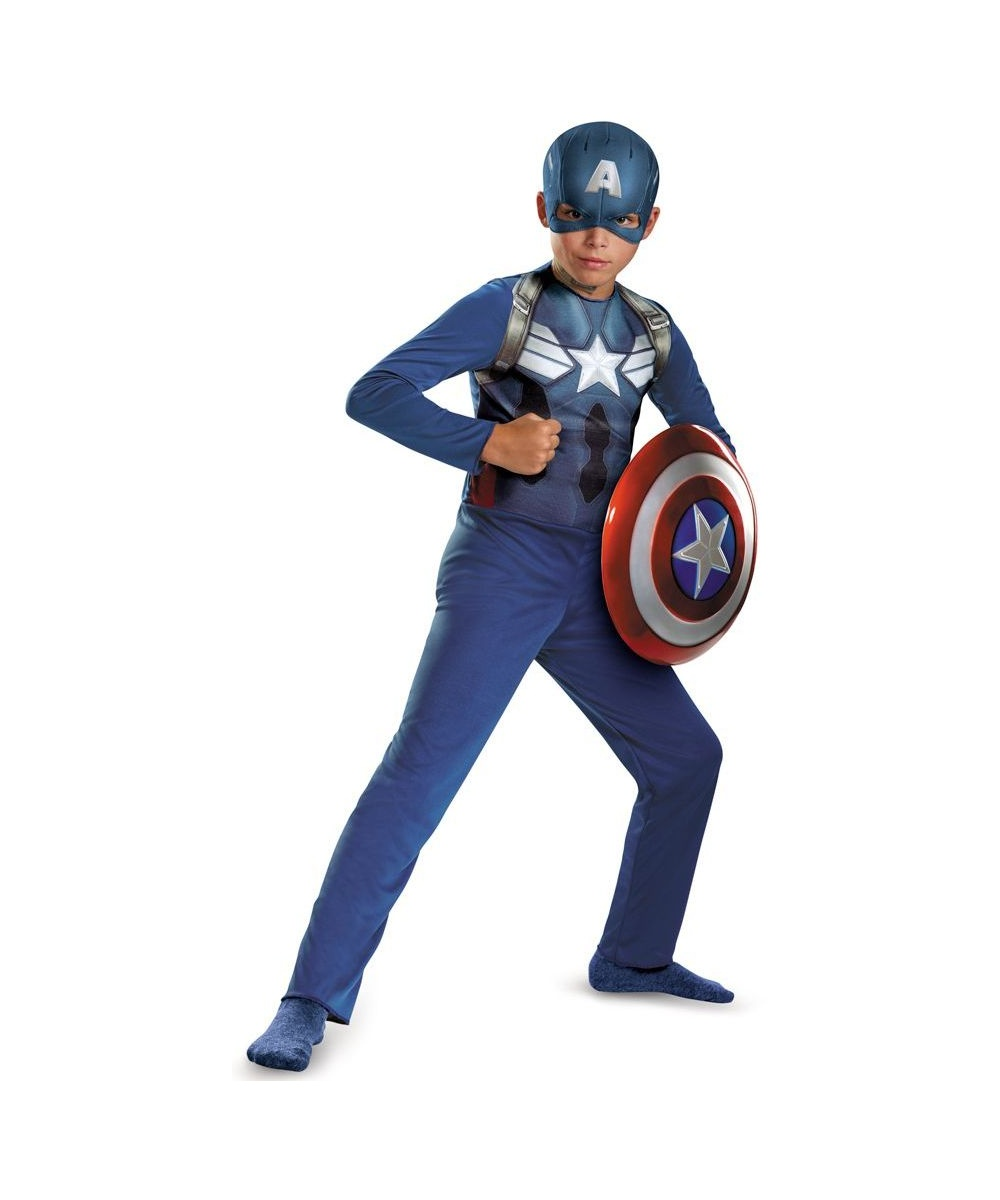 Captain America Movie Boys Costume