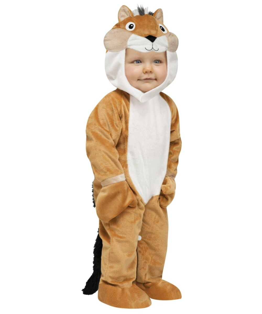Chipper Chipmunk Unisex Infant Toddler Costume