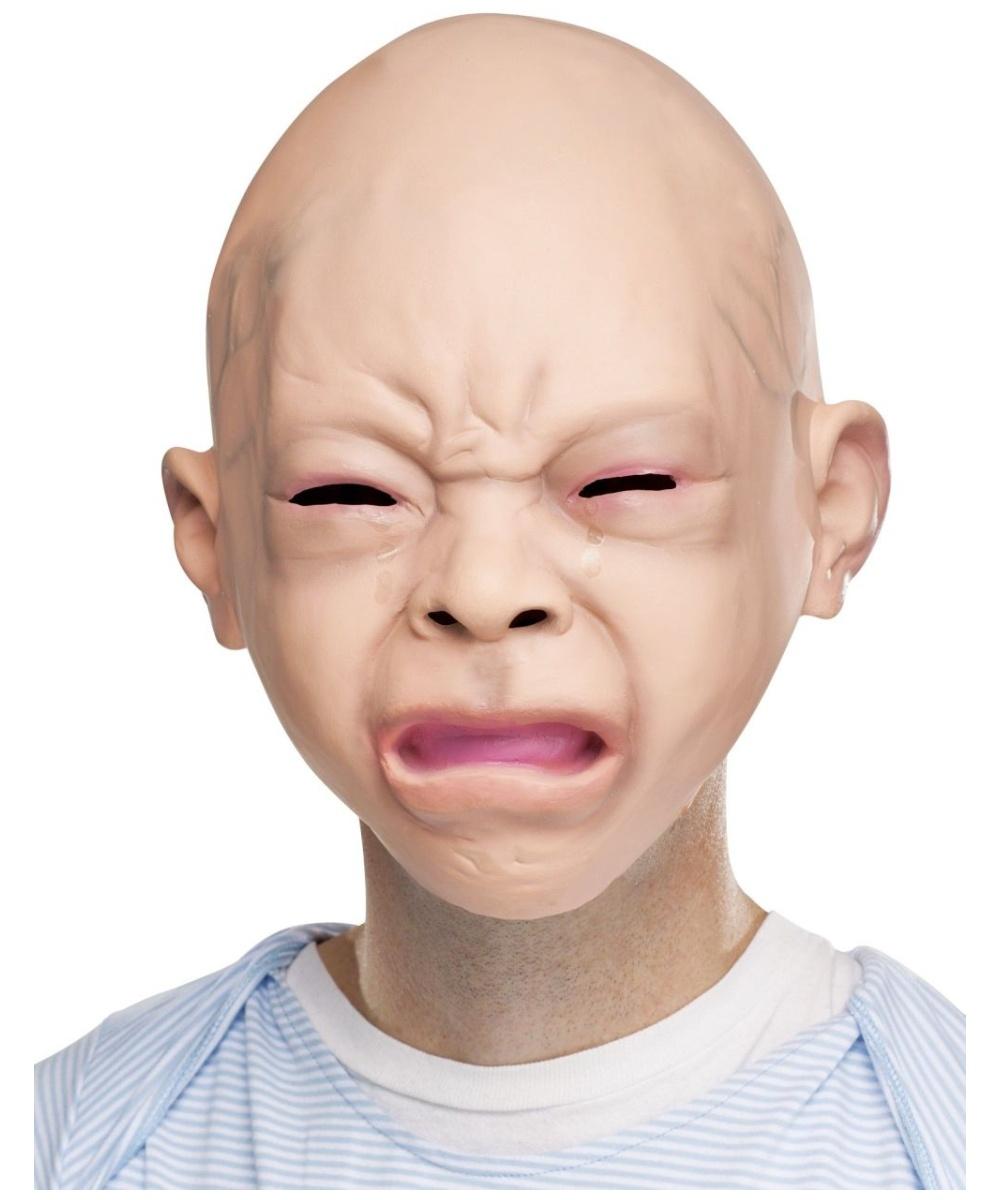 Crying Baby Latex Mask