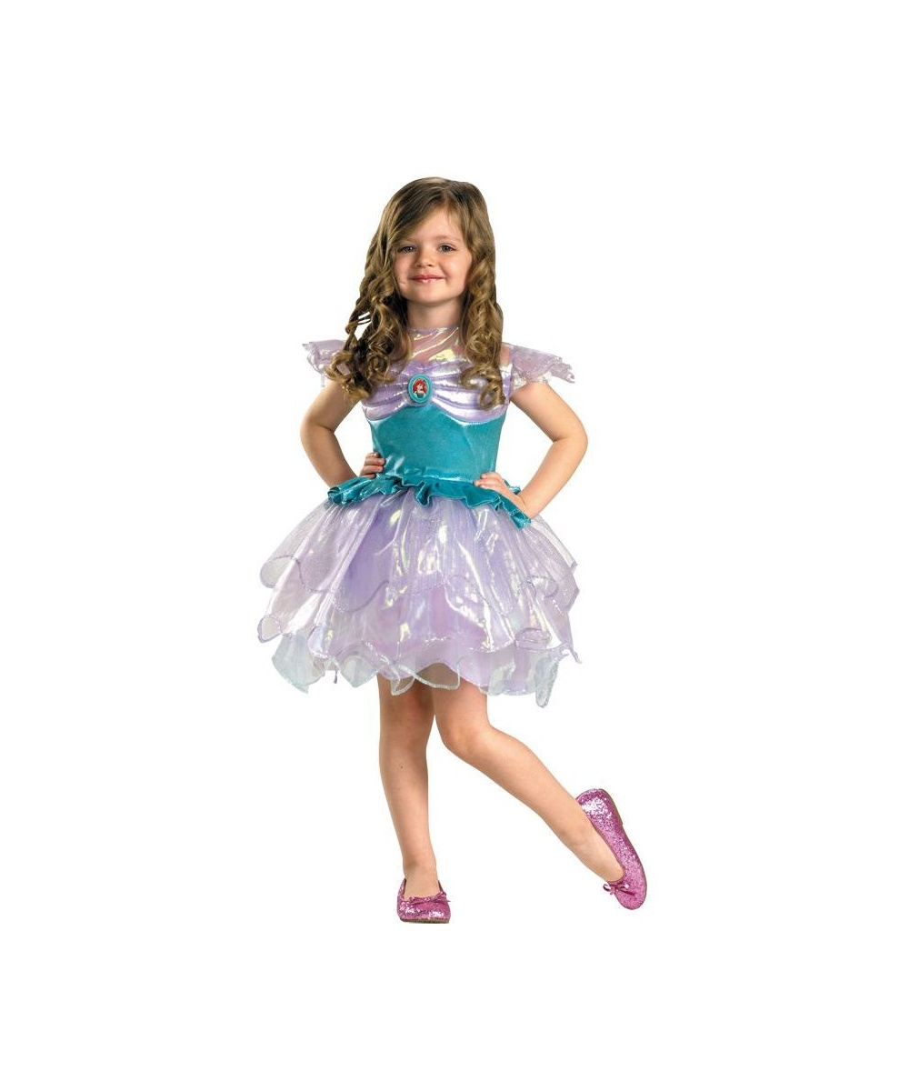 girls disney ariel toddler costume - girls costume