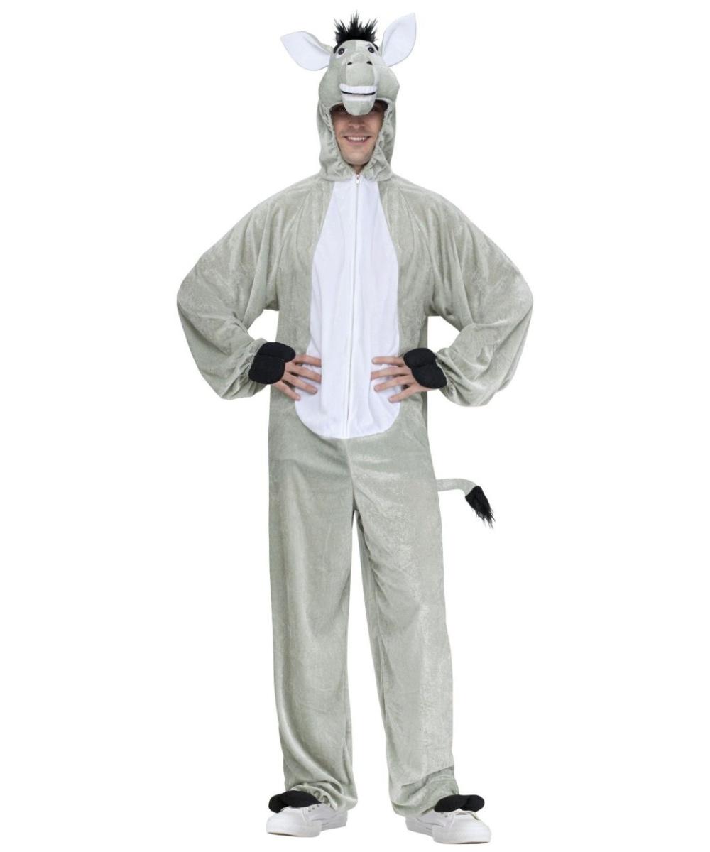 Donkey Jumpsuit Unisex Costume
