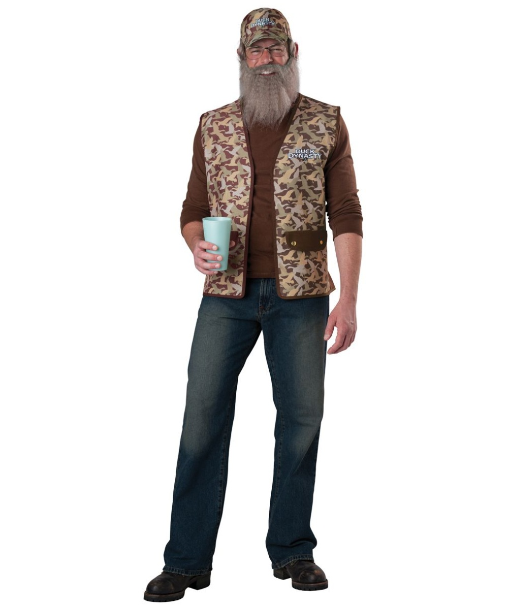 sc 1 st  Wonder Costumes & Duck Dynasty Uncle Si Mens Costume - Men Costume