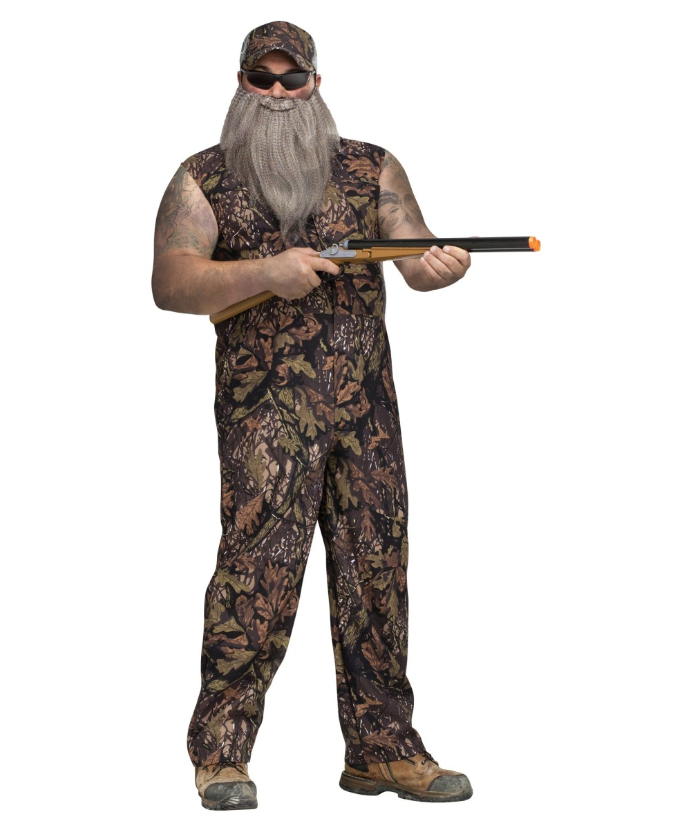 Duck Hunter plus size Costume