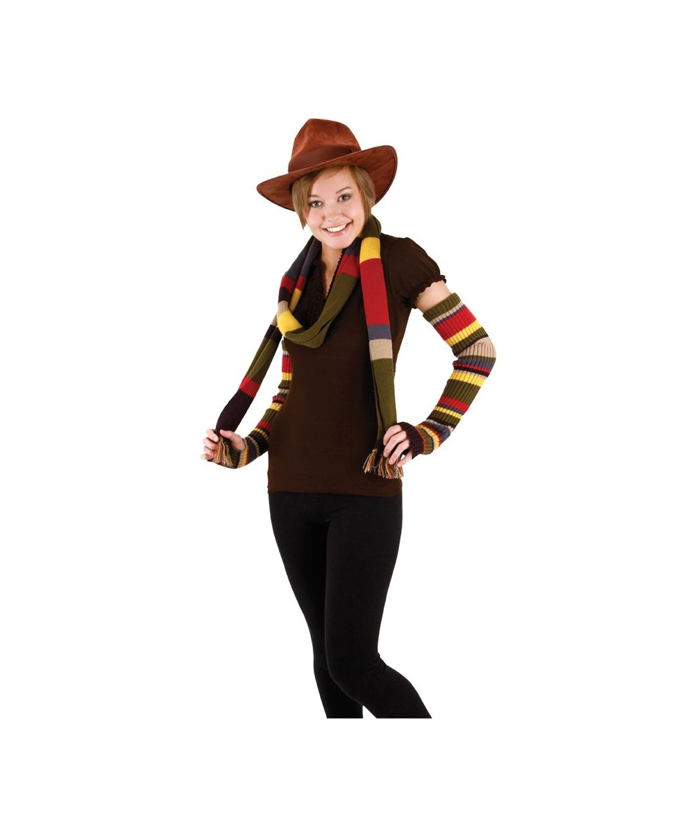 Fourth Doctor Arm Warmers