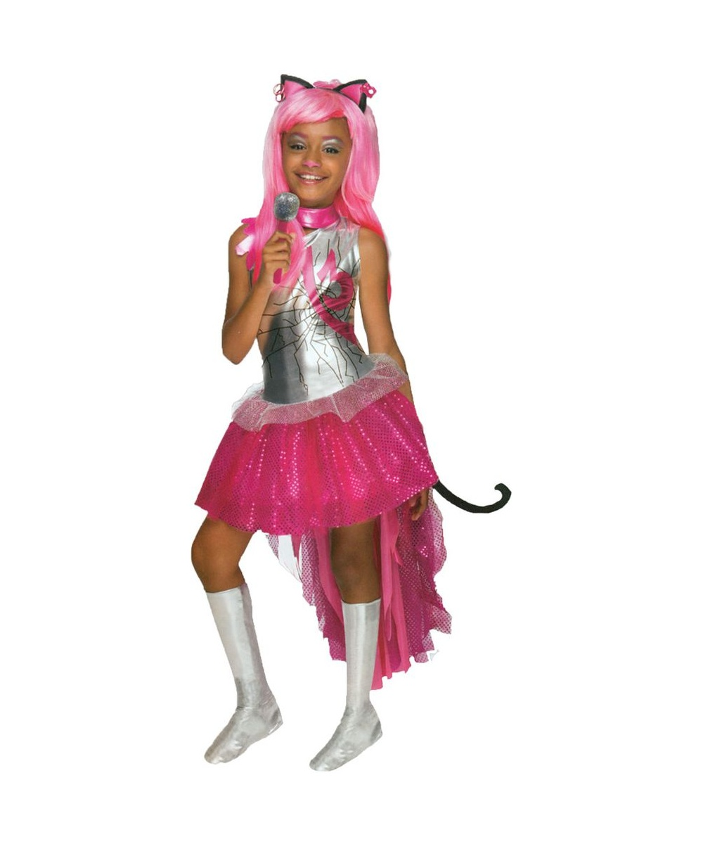 sc 1 st  Halloween Costumes & Monster High Catty Noir Girls Costume - Girls Costume