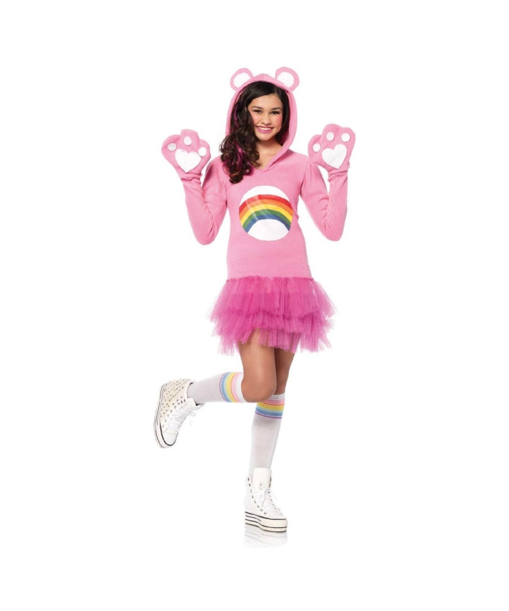 Girls Cheer Bear Costume