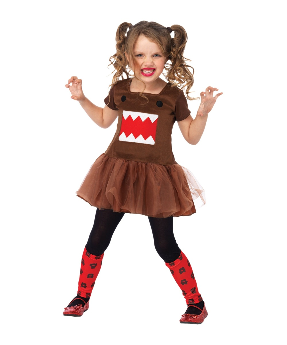 Girls Domo Tutu Dress Costume