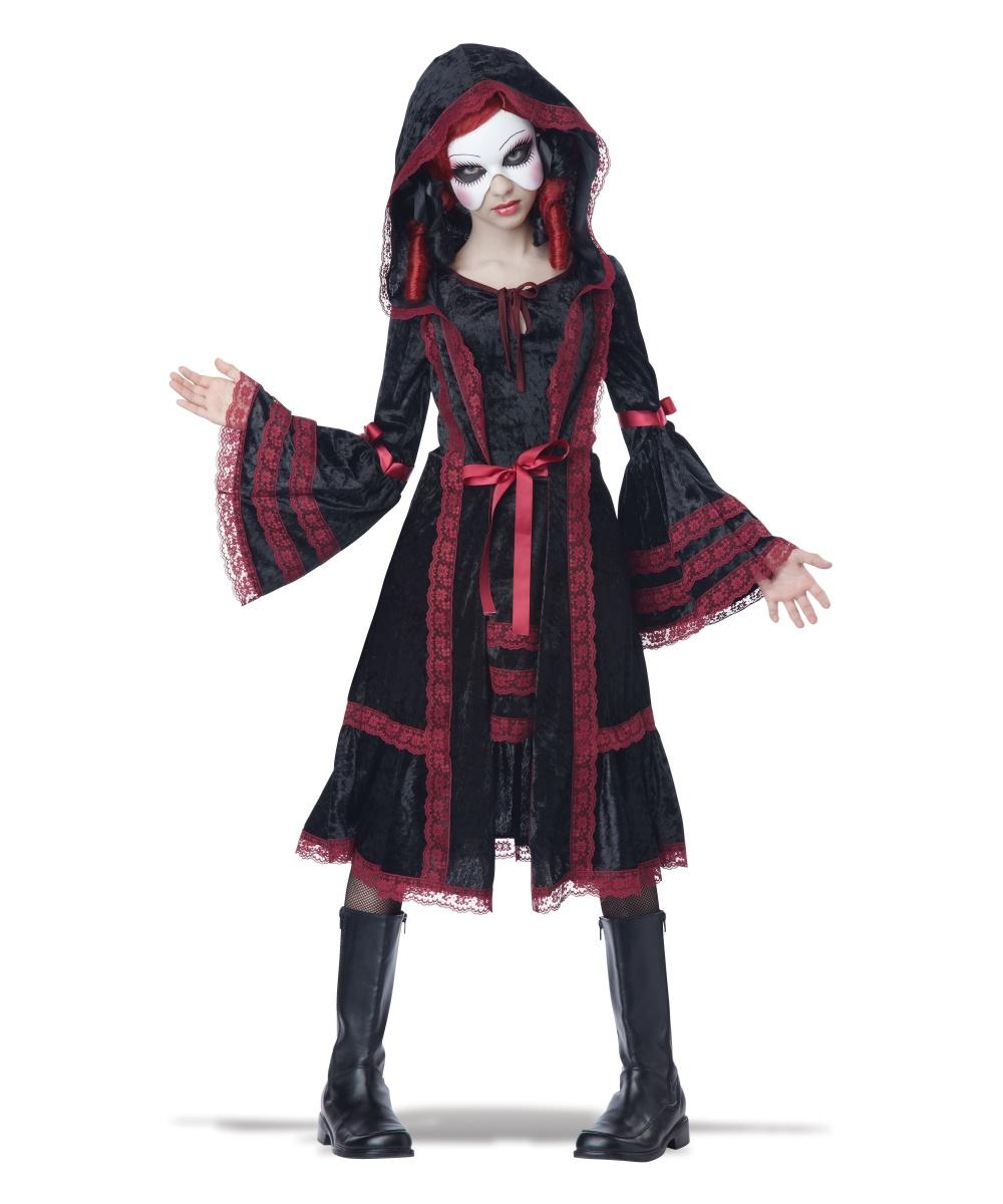 Gothic Doll Girls Costume
