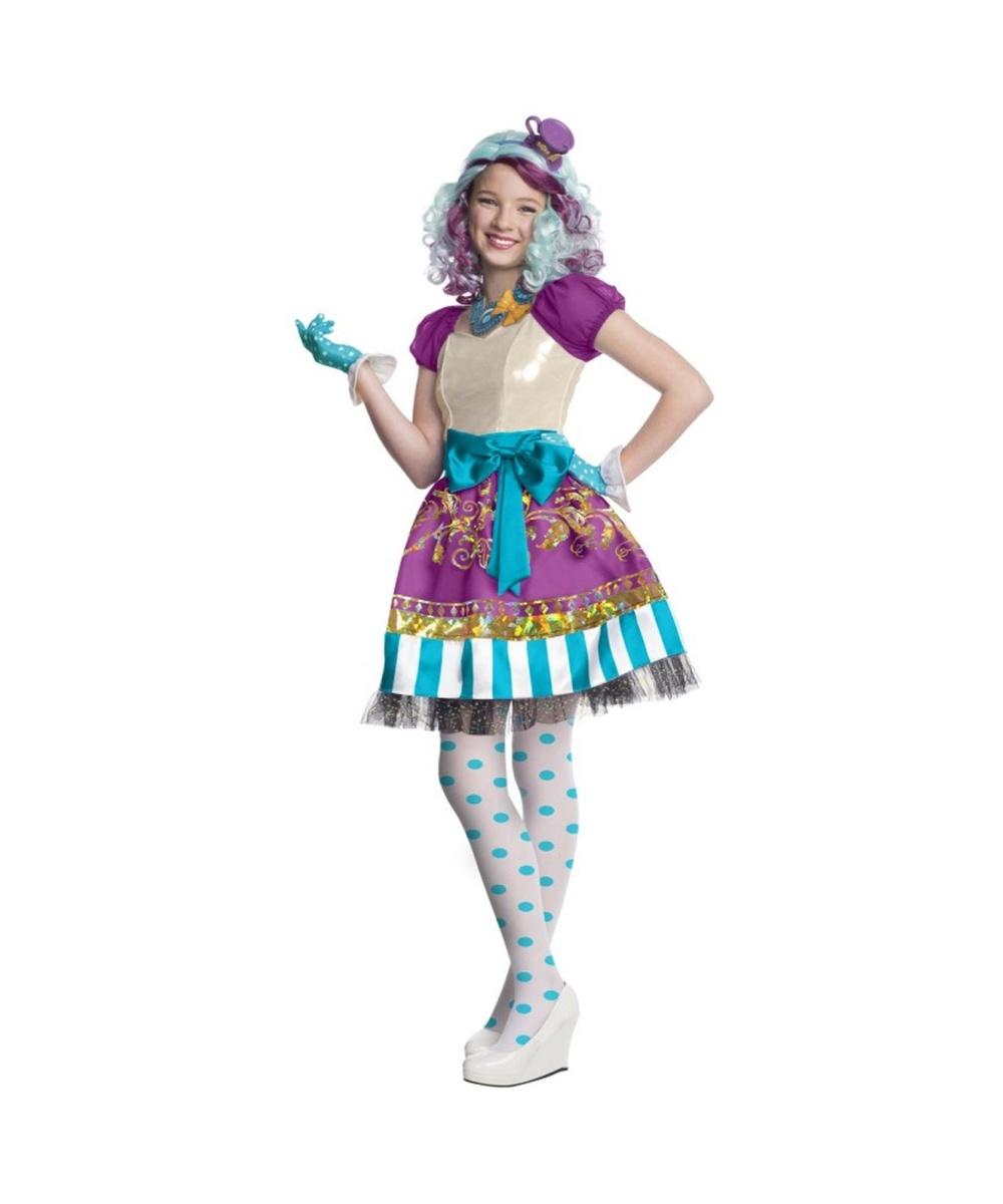 Ever After High Madeline Hatter Girls Costume