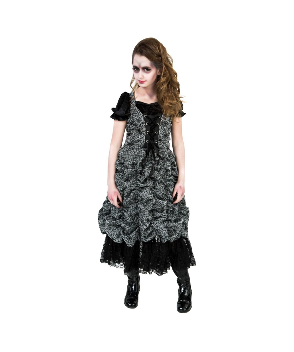 spider coffin princess girls costume - scary costumes