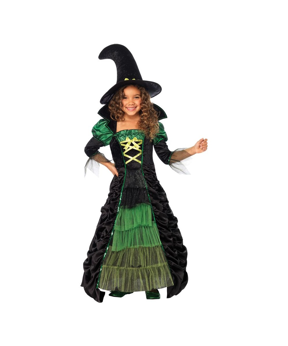 Storybook Witch Girls Costume  sc 1 st  Wonder Costumes & Storybook Witch Girls Costume - Girls Costume