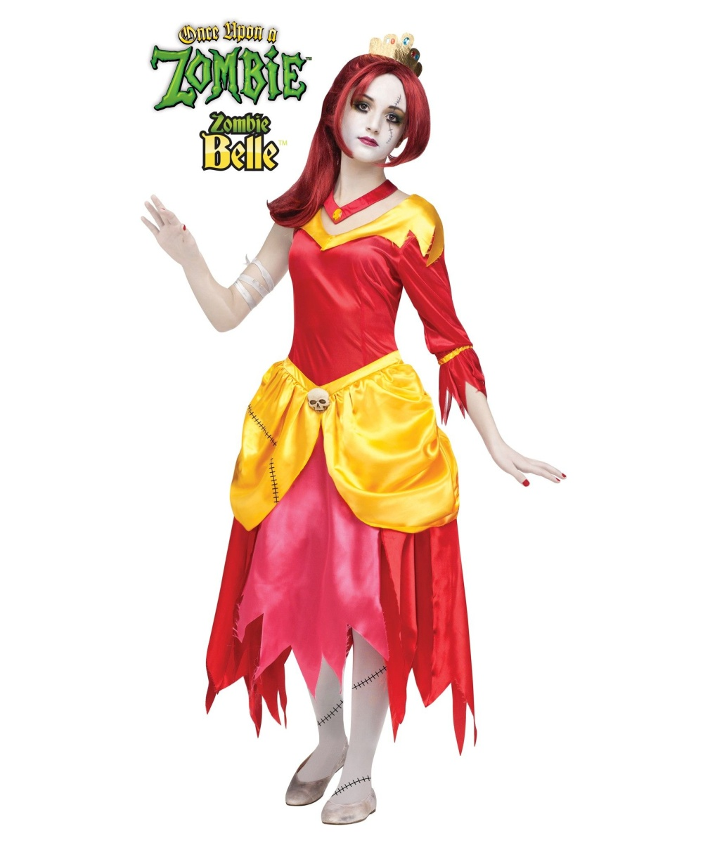 Girls Zombie Belle Costume
