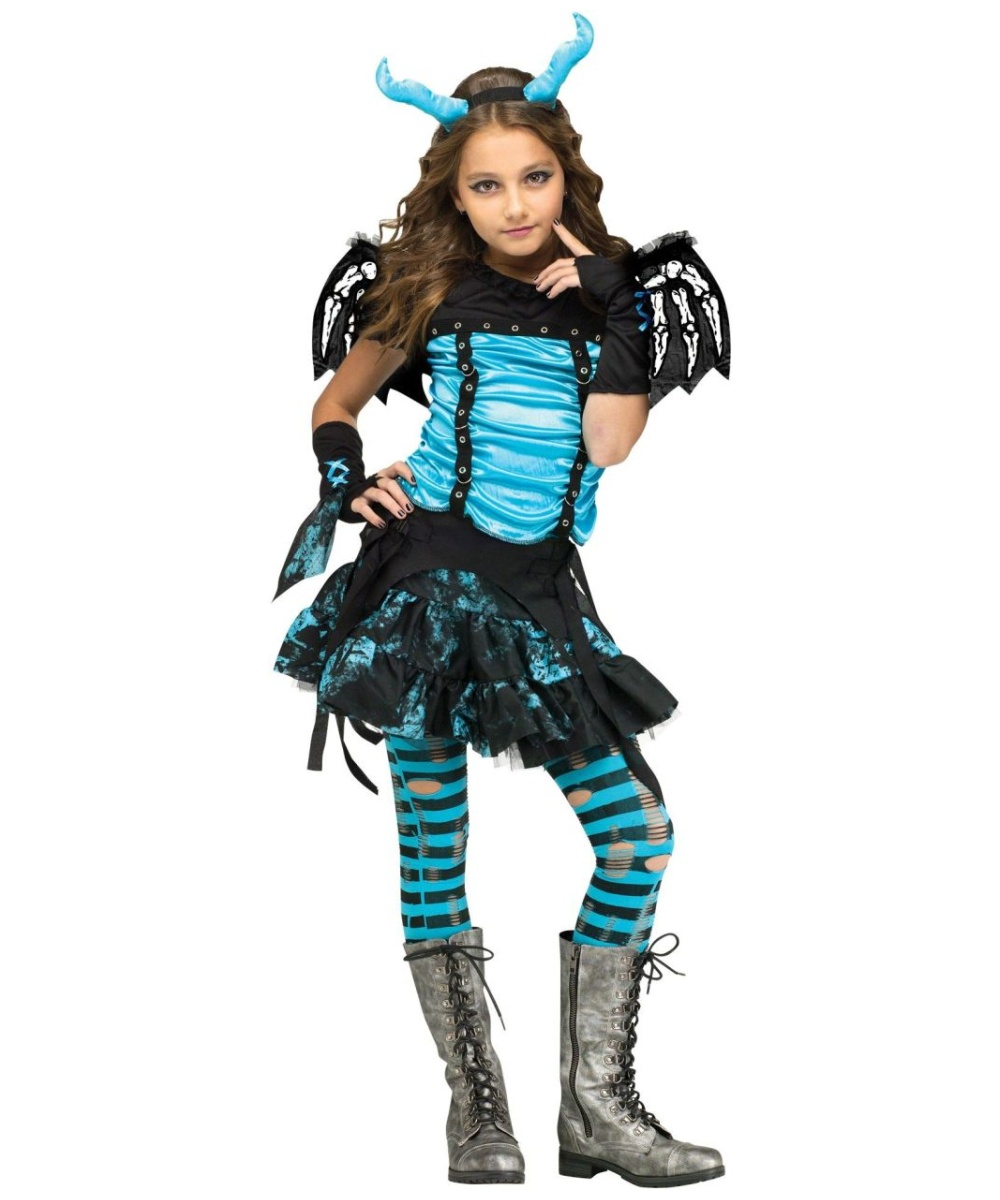 gothic dragon fairy girls costume girls costume