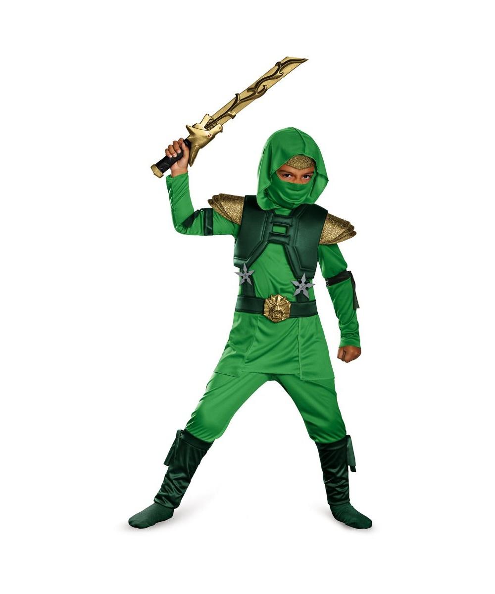 sc 1 st  Wonder Costumes & Green Master Ninja Toddler/ Boys Costume - Boys Costume