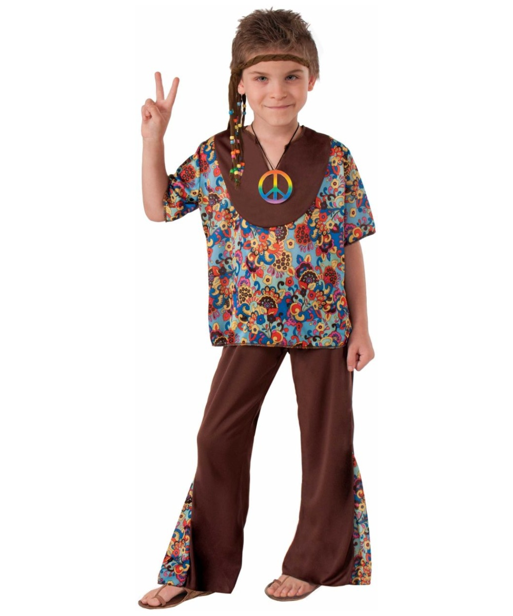 Groovy 60s Hippie Boys Costume  sc 1 st  Wonder Costumes : groovy girl halloween costumes  - Germanpascual.Com