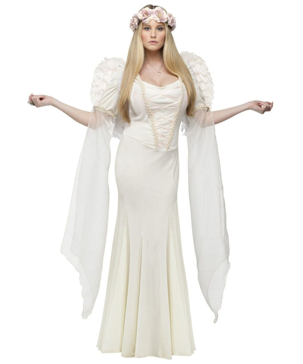a1e10a7a4 Ivory Angel Womens Costume Theatrical - Women Costume