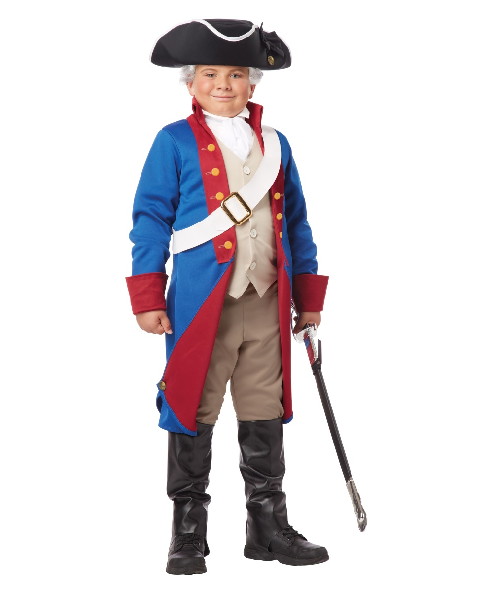 Kids American Patriot Costume