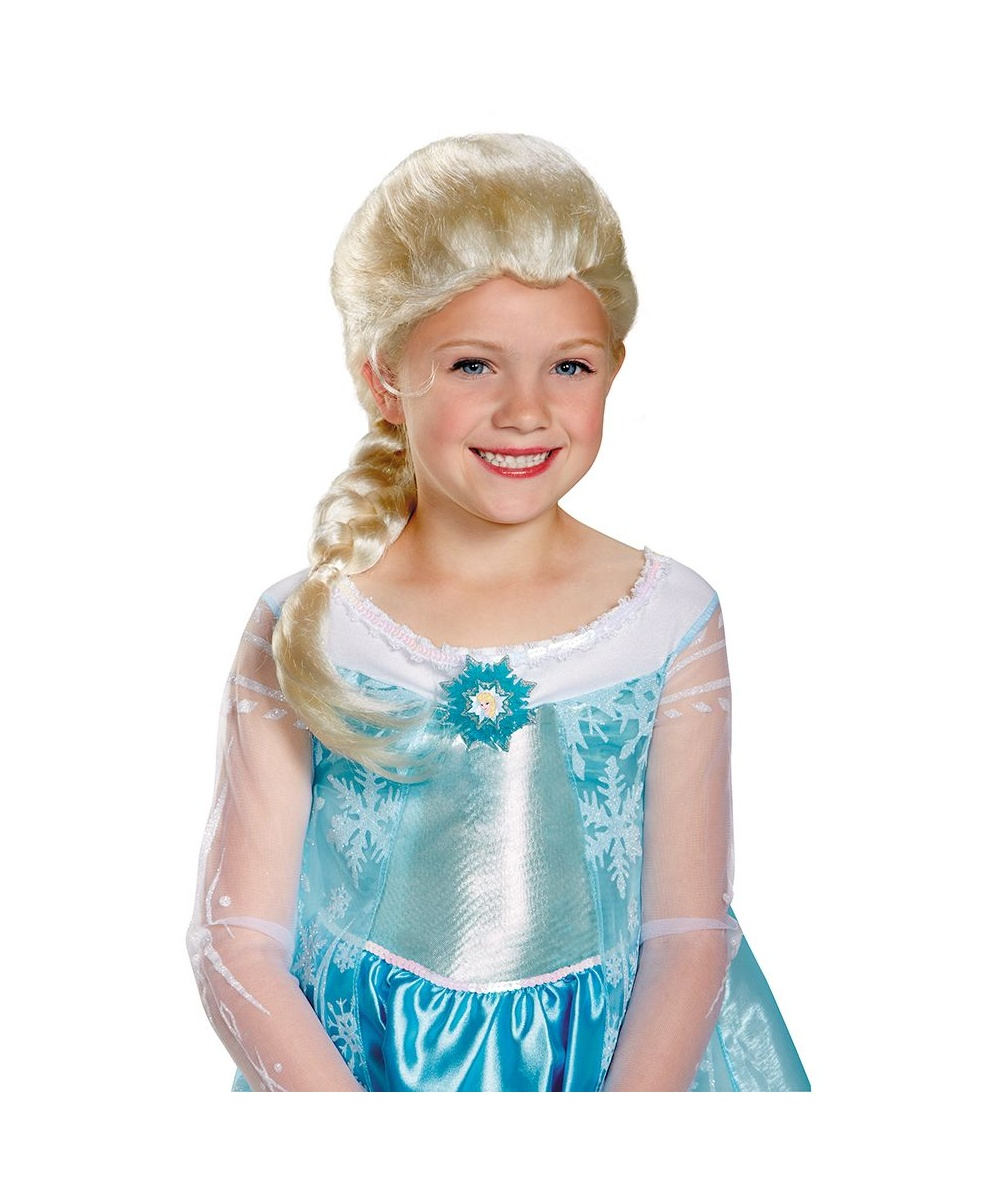 Kids Disney Frozen Elsa Wig