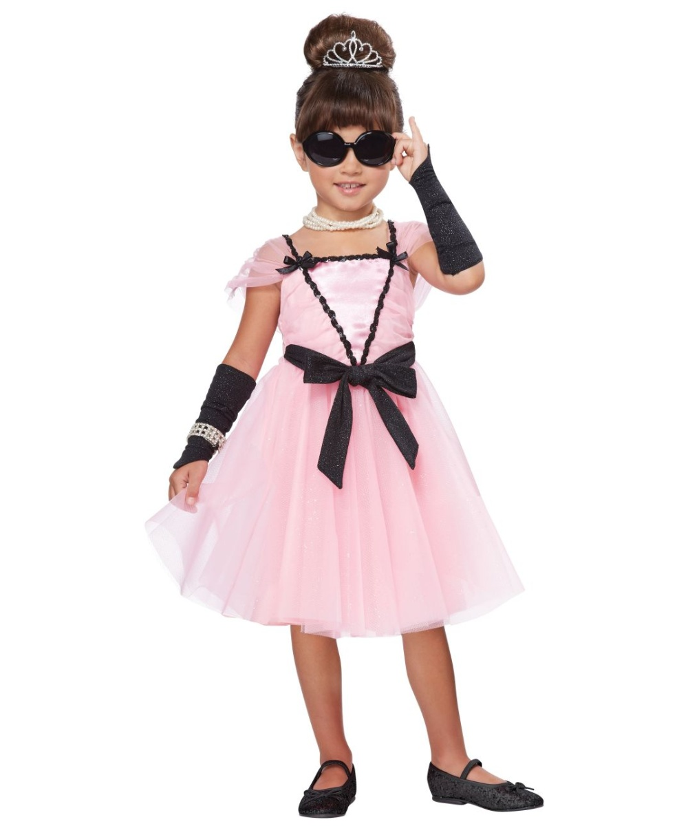 Movie Star Glamour Toddler Costume Girls Costume
