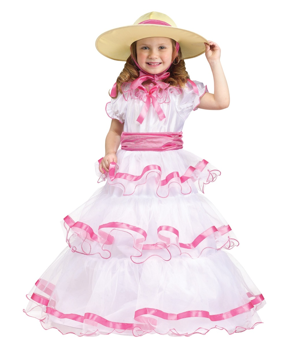 sweet southern belle toddler girl costume