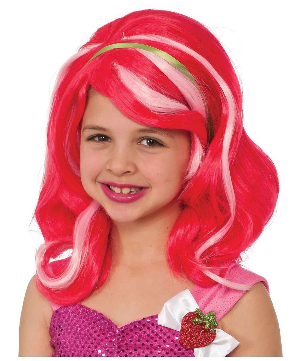 Strawberry Shortcake Girls Wig  sc 1 st  Wonder Costumes & Strawberry Shortcake Girls Wig - Girls Costume