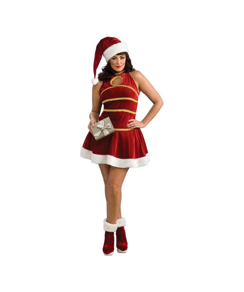 Sultry Santa Ladies Plus Size Costume