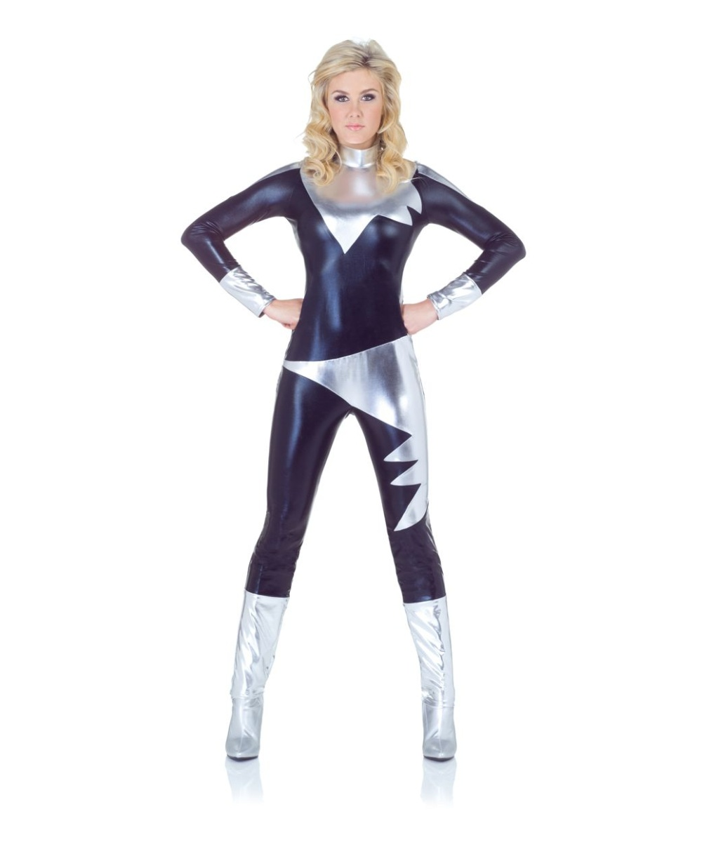 Lightning Woman Costume  sc 1 st  Wonder Costumes & Lightning Woman Costume - Women Costume