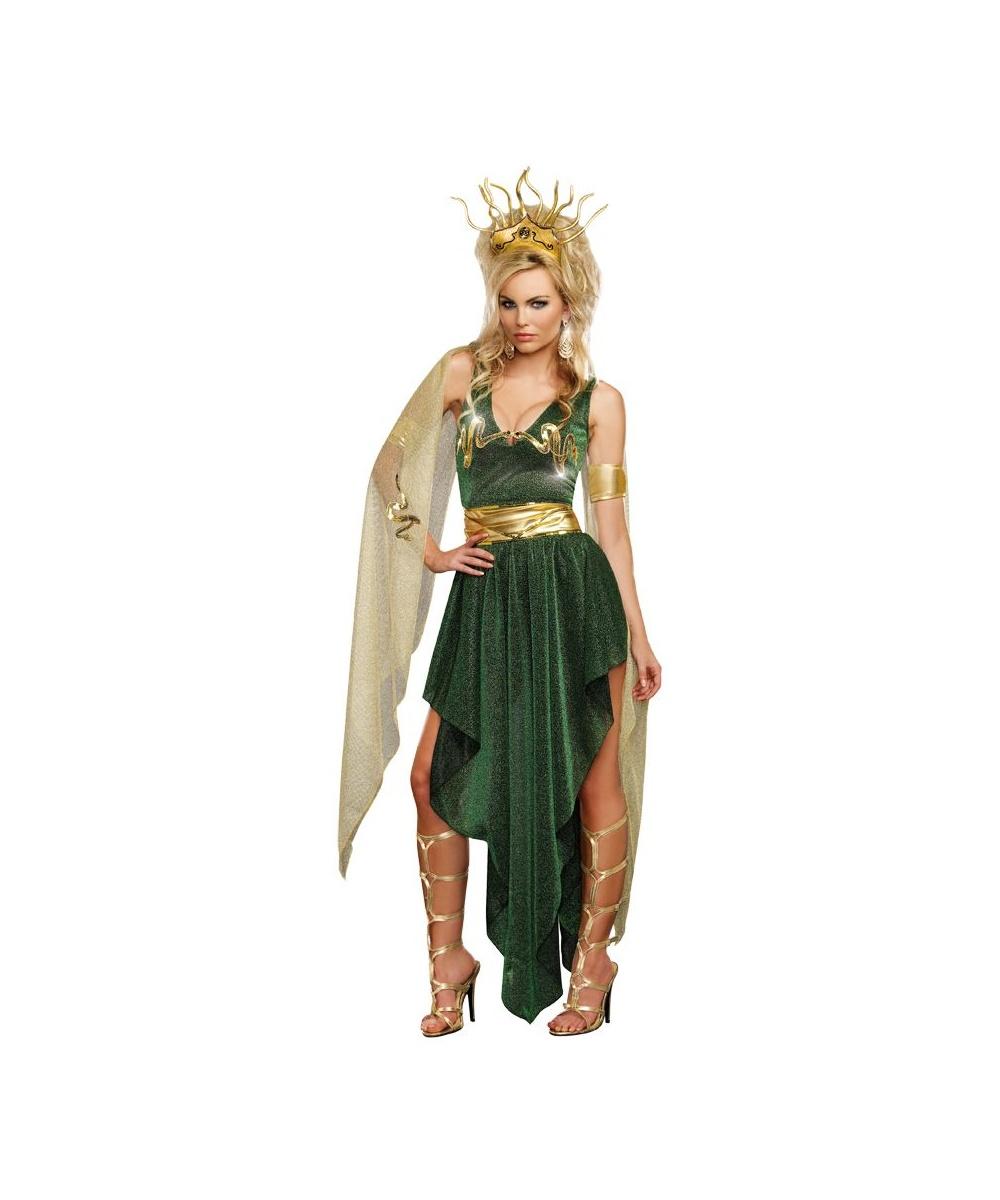 Lady Medusa Womens Costume deluxe  sc 1 st  Wonder Costumes & Greek Costumes - Boys Girls Men u0026 Women Halloween Costume