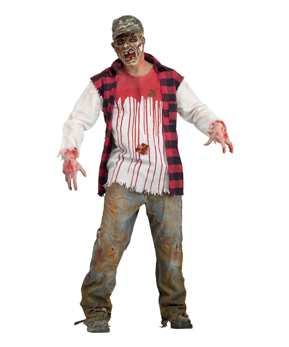Redneck Zombie Mens Costume  sc 1 st  Halloween Costumes : marine costume for men  - Germanpascual.Com