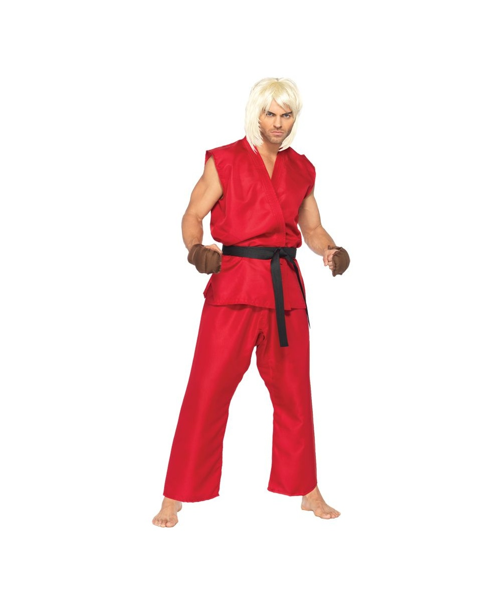 Mens Street Fighter Ken Costume
