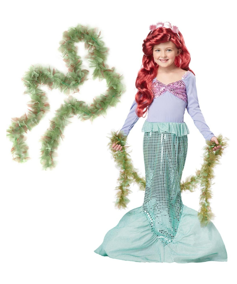 Lovely Little Mermaid Princess For A Day Costume Kit