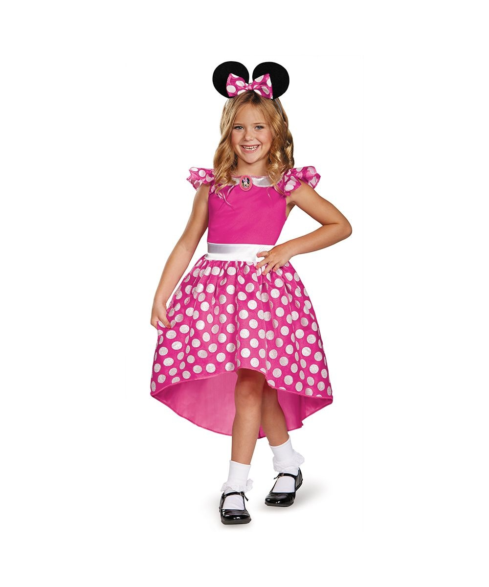 sc 1 st  Wonder Costumes & Pink Minnie Mouse Toddler Girls Costume - Girls Costume