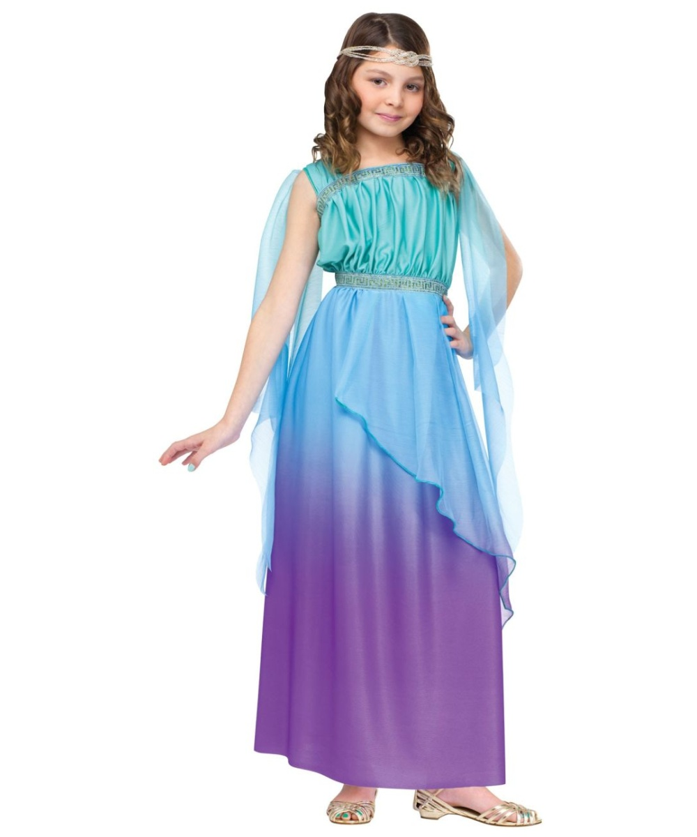 Mythical Goddess Girls Costume - Girls Costume