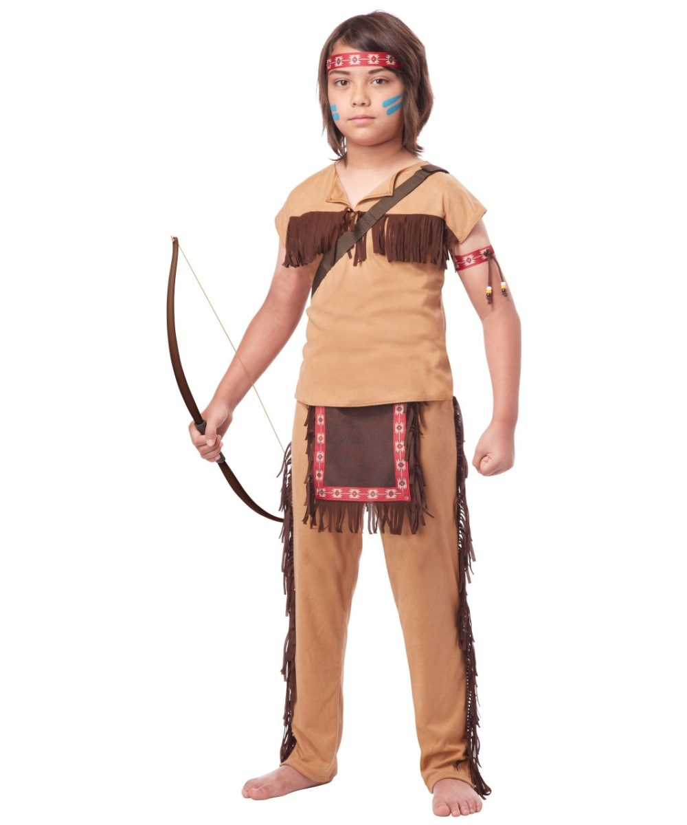 how to make an indian costume for a boy