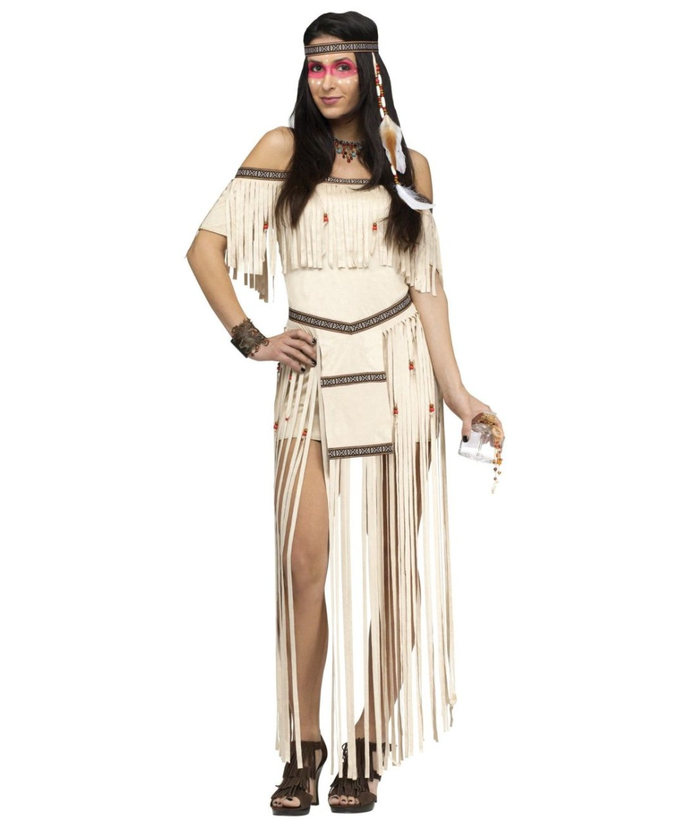 moon dancer native womens costume - women indian costume