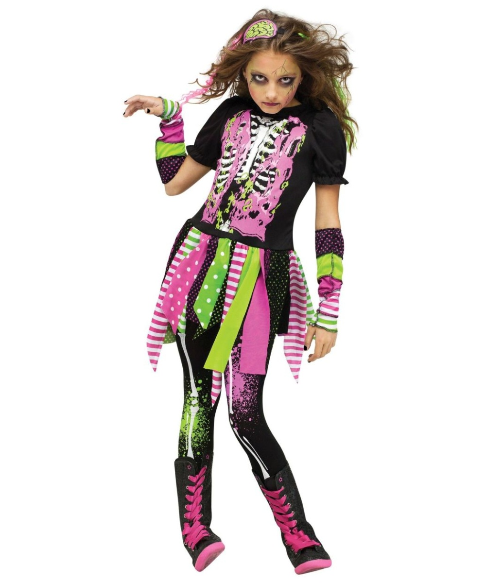 Party City Skeleton Clown