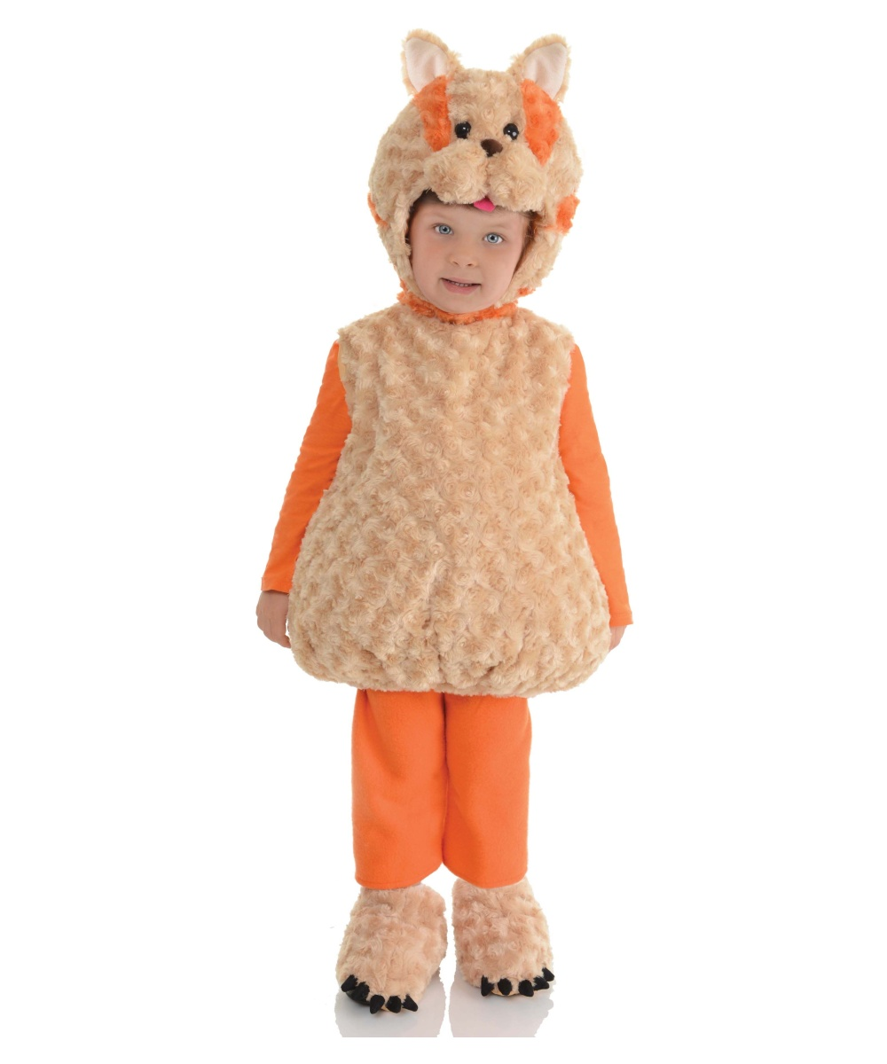 Orange Cat Baby Costume