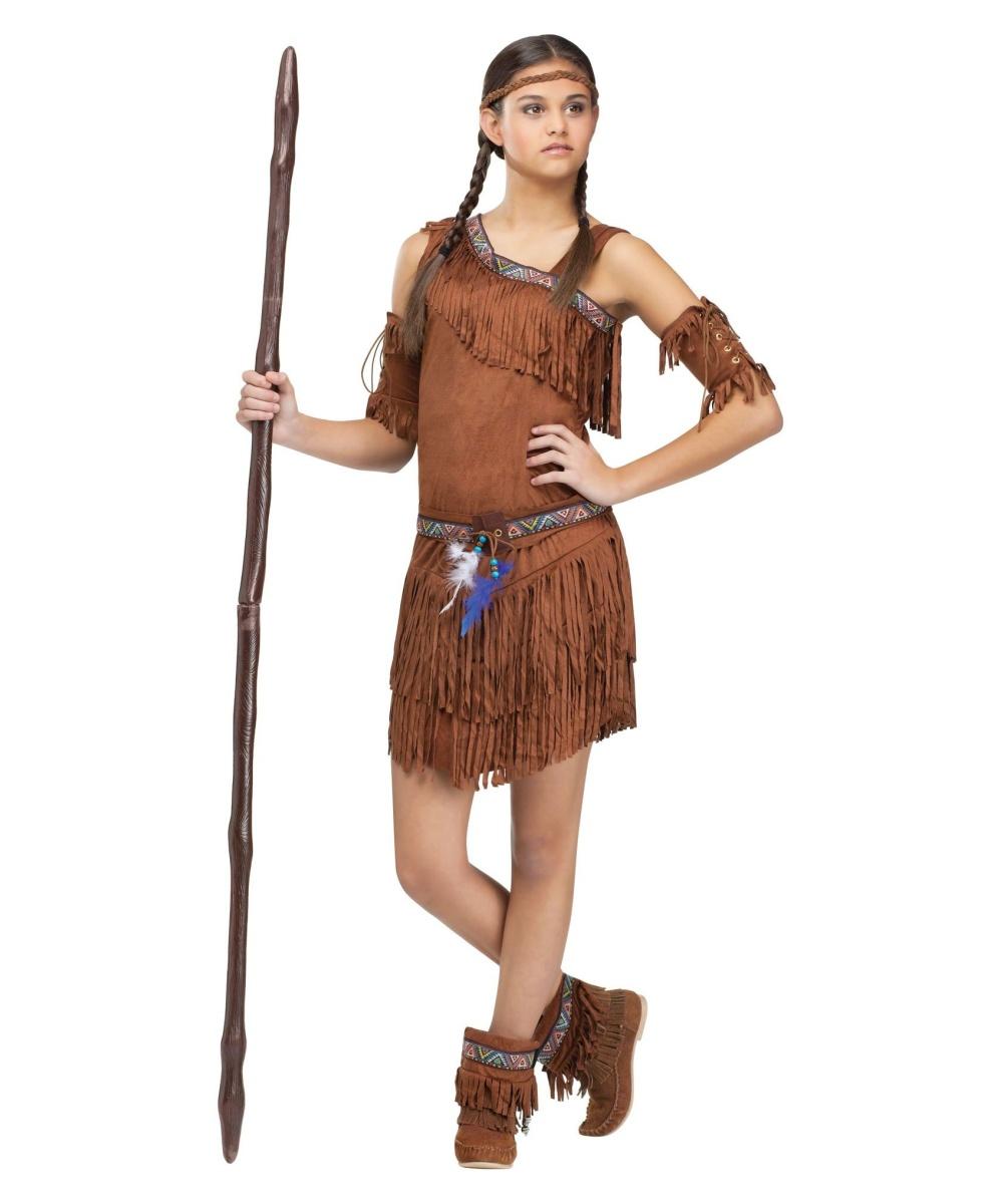 Pow Wow Teen Indian Costume  sc 1 st  Wonder Costumes & Pow Wow Indian Teen Costume - Teen Indian Costume