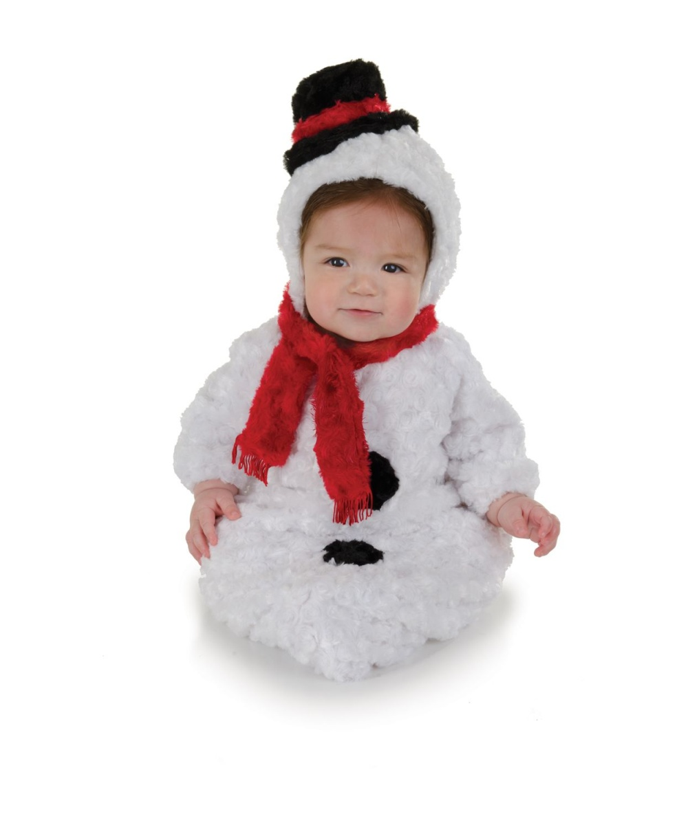 Snowman Baby Bunting Costume